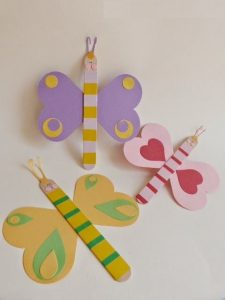 popsicle stick butterfly craft idea (2)