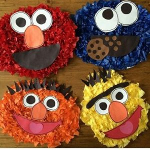 sesame street characters craft