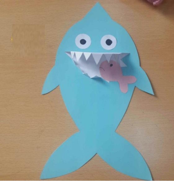 shark craft idea for kid