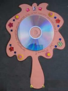 cd mirror craft idea for kids with template (2)