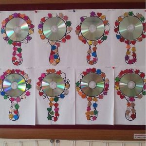 Mirror Craft Idea For Kids Crafts And Worksheets For
