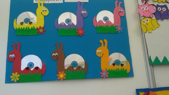 Cd Animals Craft Idea For Kids