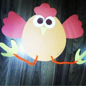 chick craft idea for kids (3)