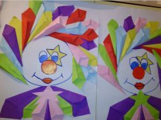 Clown craft idea for kids & paper plate Clown craft | Crafts and Worksheets for Preschool ...