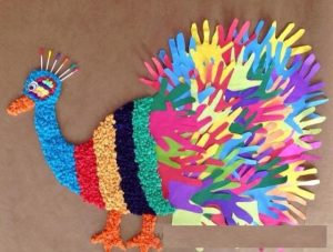 free peacock bulletin board
