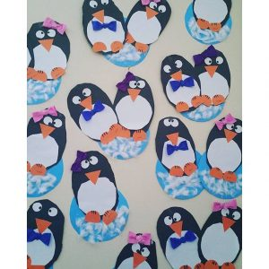 free penguin craft
