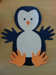free penguin craft idea for kids