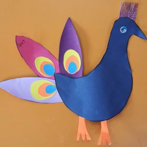 peacock craft idea