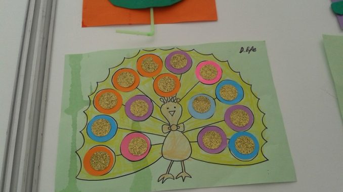 Peacock Craft Idea For Kids Crafts And Worksheets For Preschool