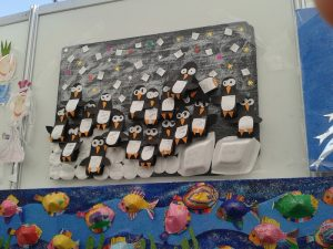 penguin bulletin board idea for kids (1)