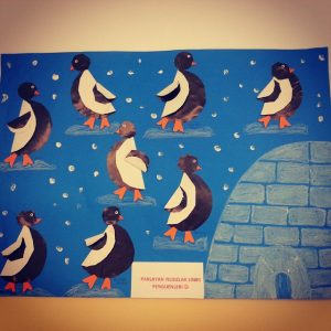 Penguin craft idea for kids Crafts