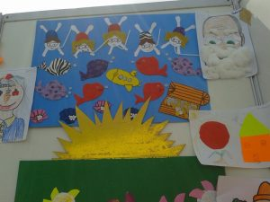 under the sea bulletin board idea for kids
