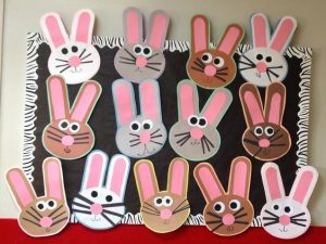 Bunny craft idea for kids crafts and worksheets for preschool