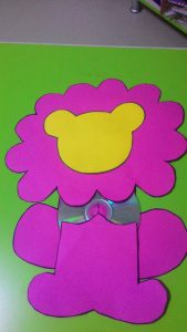 cd lion craft with template (1)