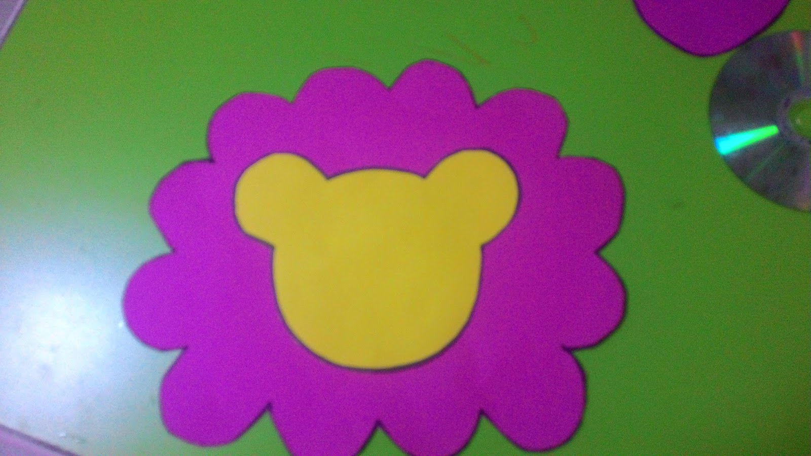 cd lion craft with template (3) | Crafts and Worksheets for
