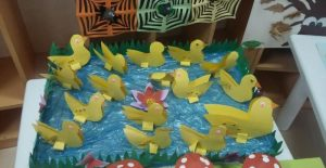 duck bulletin board idea for kids