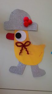 free duck craft