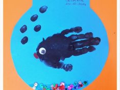 handprint animals craft idea
