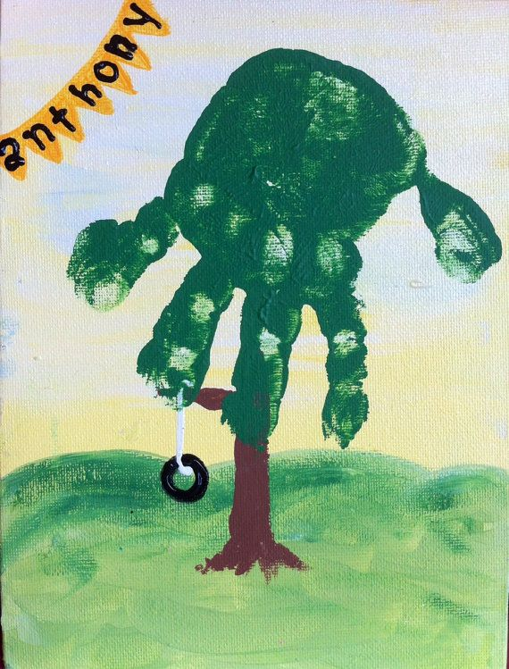 handprint-tree-craft