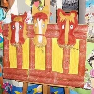 horse craft idea for kids