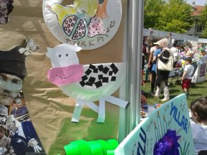 paper plate cow craft idea