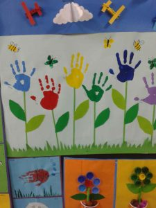 spring bulletin board