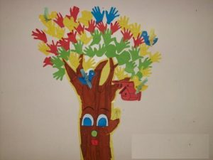 tree craft idea for kids