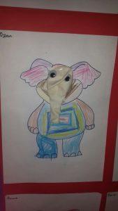 balloon elephant craft