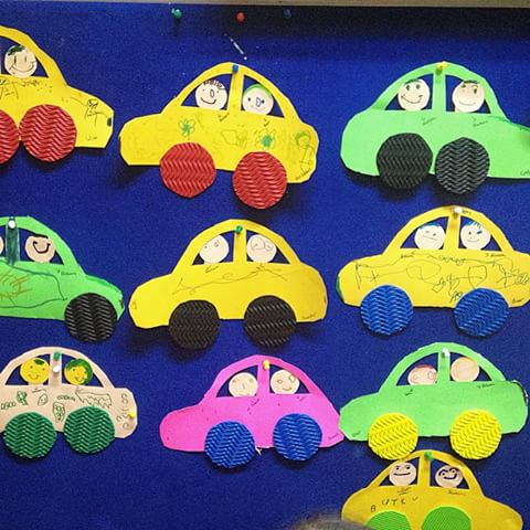 Crafts actvities and worksheets for preschool toddler and for Car craft for kids