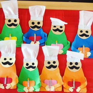 Chef craft idea for kids Crafts
