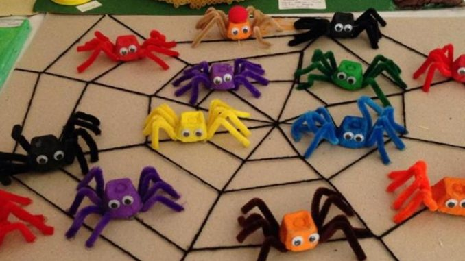 Spider Craft Idea For Kids Crafts And Worksheets For