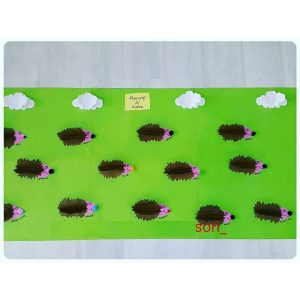 hedgehog bulletin board
