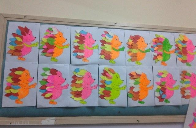 hedgehog craft idea for kids (6)