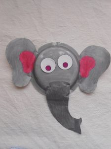 Recycled jungle animals craft idea