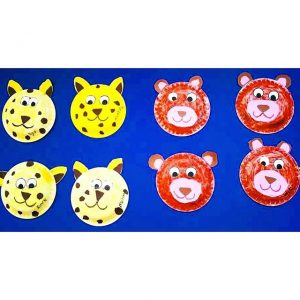 paper plate jungle animals craft (1)