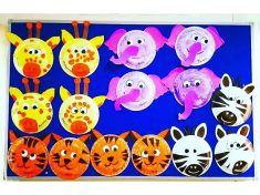 paper plate jungle animals craft (2)