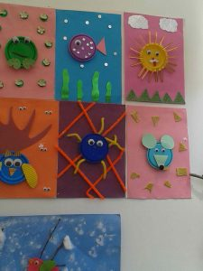 play-doh cap craft  idea for kids (5)