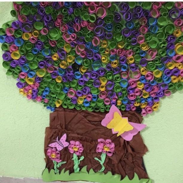 quilling tree craft (2)