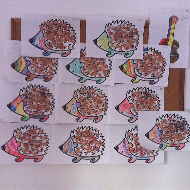 recycled hedgehog craft (1)