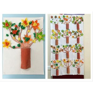 spring tree craft idea