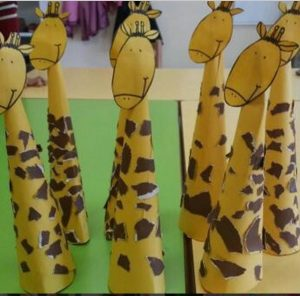 cone-shaped-giraffe-craft