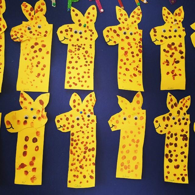 fingerprint-giraffe-craft