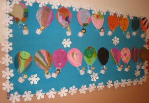 Hot Air Balloon Craft Idea For Kids Crafts And
