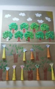 giraffe-bulletin-board-idea