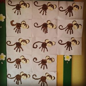 handprint-monkey-craft