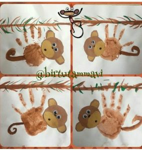 handprint-monkey-craft-idea-for-kids