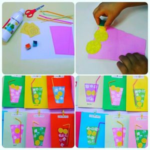 Lemonade craft idea for kids Crafts and Worksheets for