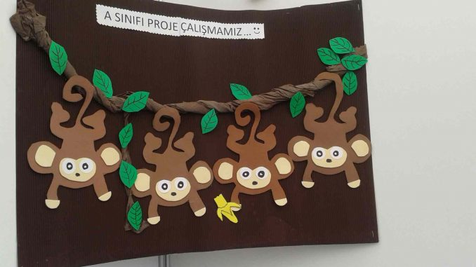 This Page Has A Lot Of Free Monkey Craft Idea For Kids parents And