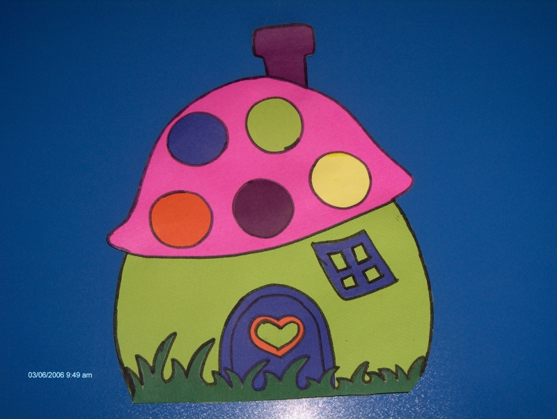 mushroom-house-craft