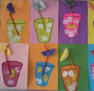 Orange Juice Craft X on free easter preschool worksheets